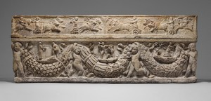 Image used with permission and downloaded from a museum website: Marble Sarcophagus with Garlands and Myth of Theseus and Ariadne. The Metropolitan Museum of Art, Bequest of John L. Cadwalader, 1914. http://www.metmuseum.org/toah/works-of-art/90.12a,b,