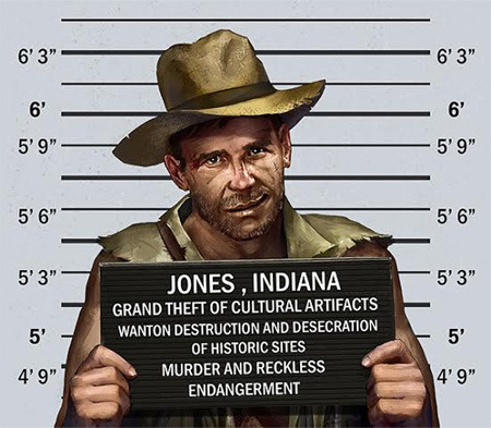 Justice is served!  All rights to the Indiana Jones franchise © Paramount Pictures.
