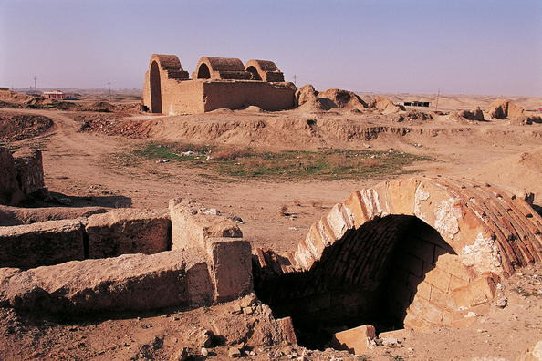 The Temple of Ishtar ruins, Ashur. Courtesy of UNESCO, © Editions Gelbart (scholarly use only)