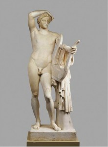 Roman, after Praxiteles or one of his pupils, Apollo Lykeios. 330 B.C.E., marble statue, Staatliche Museen zu Berlin. Available from: ARTstor, http://library.artstor.org (accessed 15 April 2015).