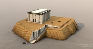 Reconstruction of the White Temple on the Anu Ziggurat